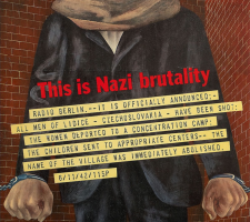 Ben Shahn's This is Nazi Brutality: Propaganda Posters and Public Opinion During WWII